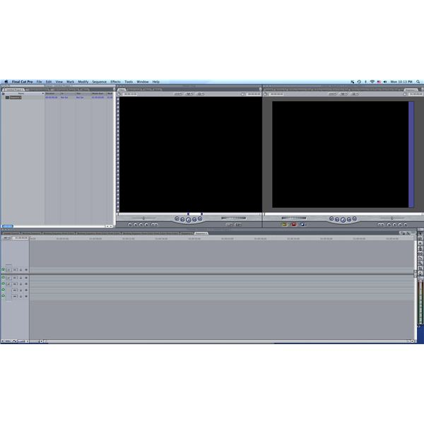 Final Cut Pro Layout