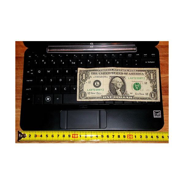 Dollar on Keyboard