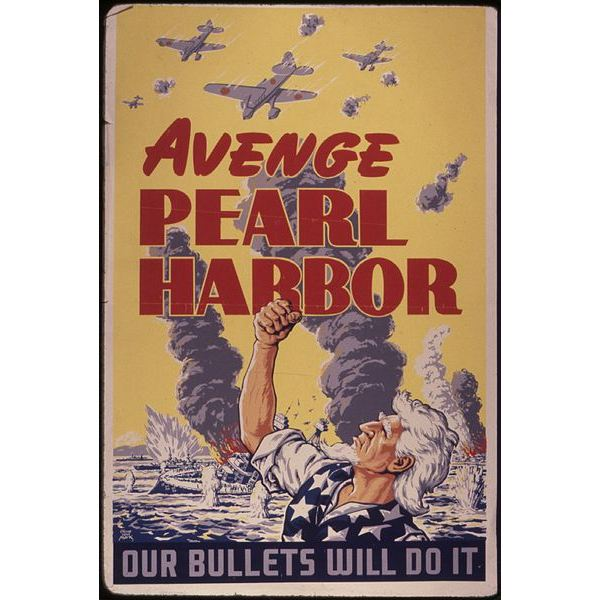 WTF Art History Wartime Propaganda Pearl Harbor
