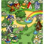 Neopets Neopia Central Map