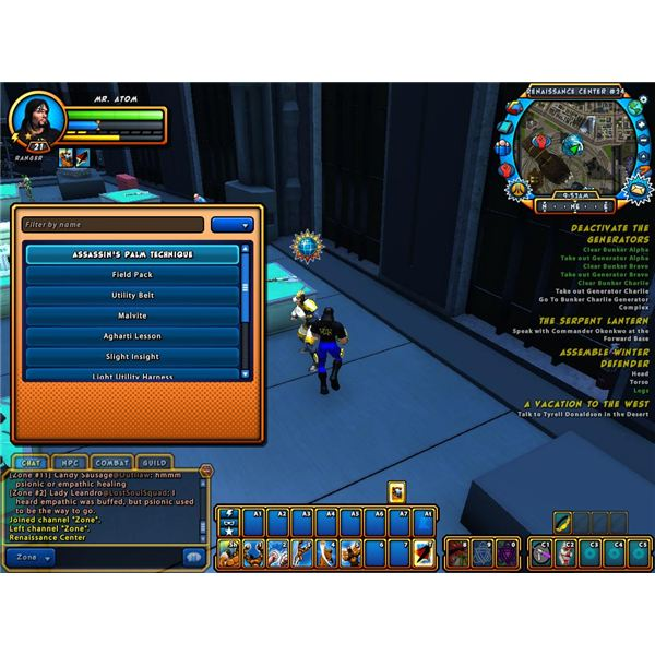 champions online free for all crafting