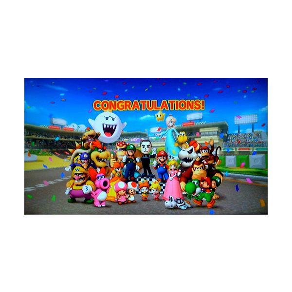 Playable Mario Kart Wii Characters