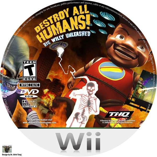 Destroy All Humans! Big Willy Unleashed (NTSC-U)