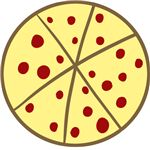 Simple Pizza Logo