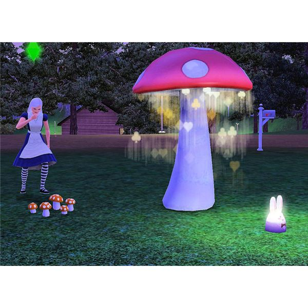 The Sims 3 Download: Download Alice In Wonderland Items For The Sims 3