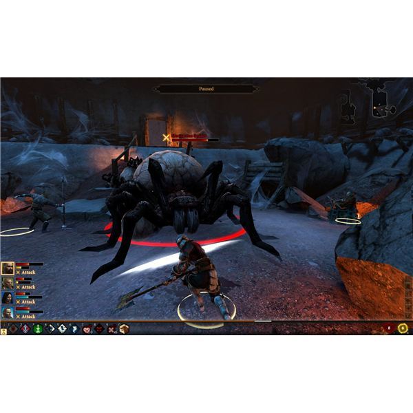 Dragon Age 2 Walkthrough - The Deep roads Expedition - The Monstrous Spider
