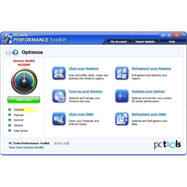 PC Tools Performance Tookit review