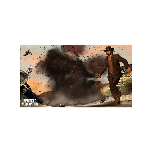 Dynamite is powerful in Red Dead Redemption