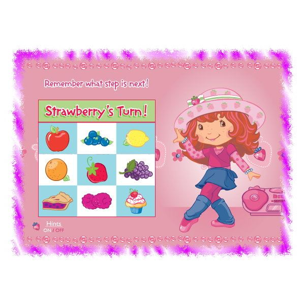Let's Dance with Strawberry Shortcake