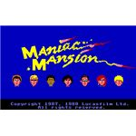 Maniac Mansion character selection interface