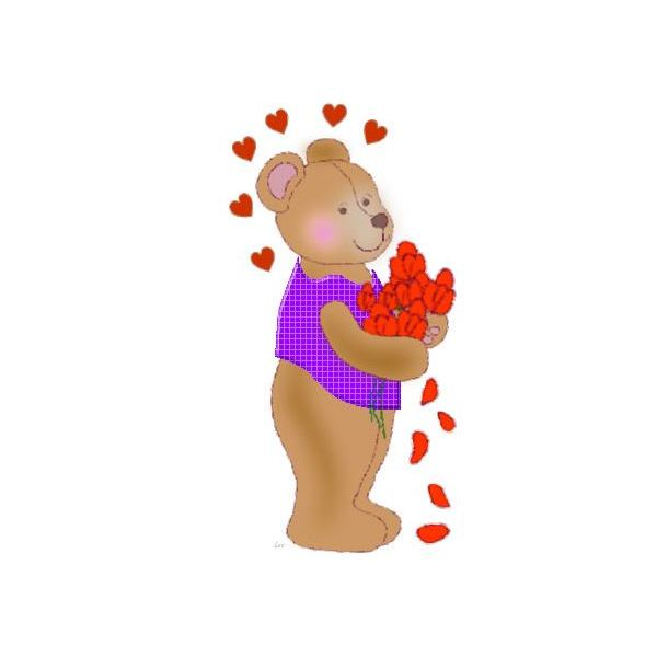 cute-valentinesday-graphics-kids-bear-holding-flowers