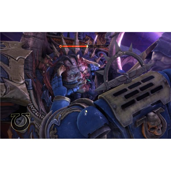 Ultramarines are experts in The Emperor's Facial Massage.