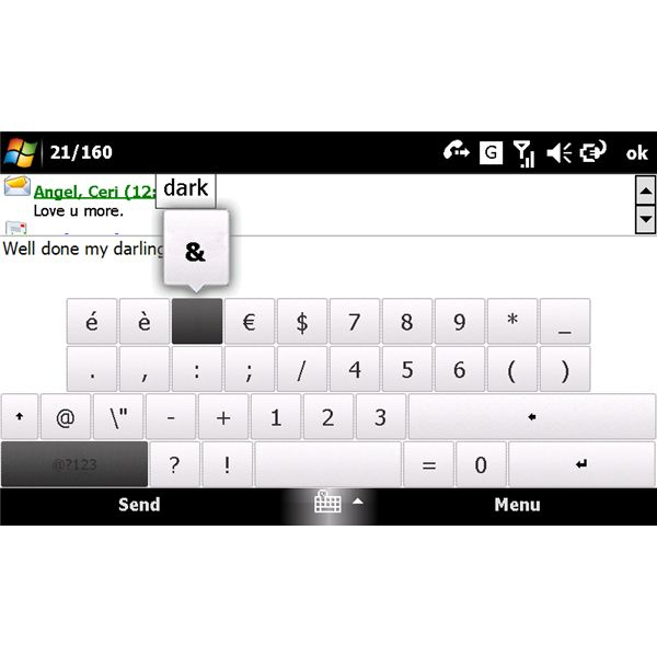 Touch keyboard for Windows Mobile