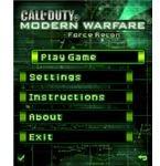 Call of Duty Modern Warfare screenshot main
