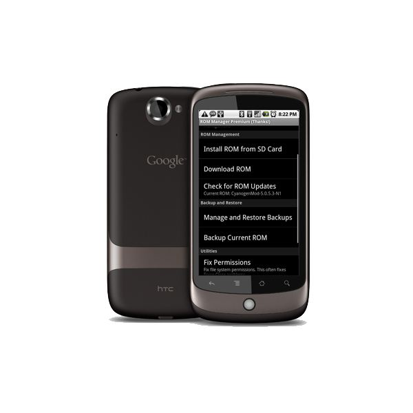 ROM Manager on the Google Nexus One