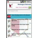 Android Apps for the Washington Nationals