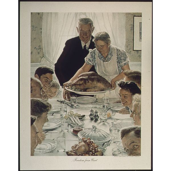 Roosevelt's 1941 State of the Union Address: Rockwell & the Four Freedoms