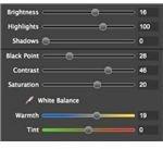 HDR Express Adjustments