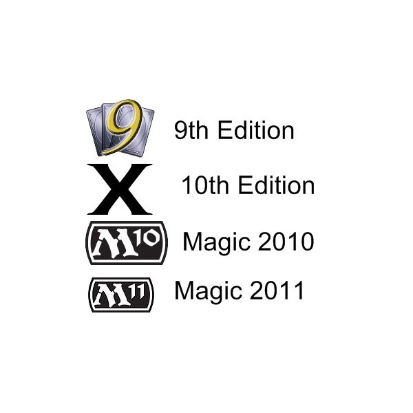 Magic The Gathering Sets List