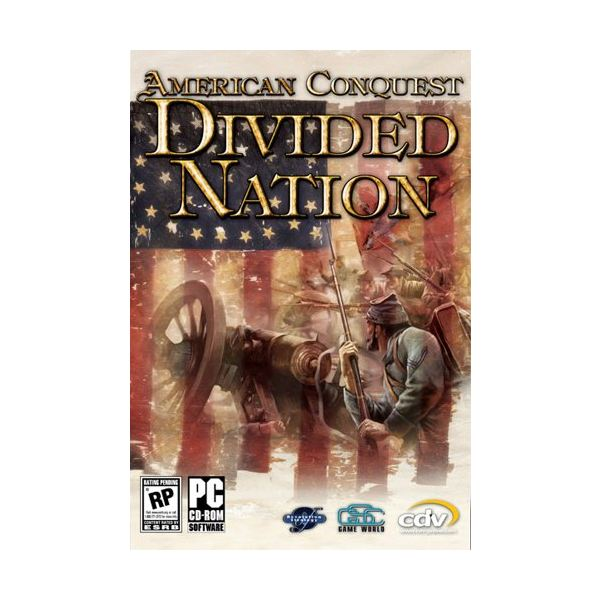 American Conquest: Divided Nation Box Art