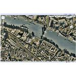 A Google Maps satellite view of Tower Bridge in London