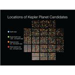 Locations of Kepler Planet Candidates