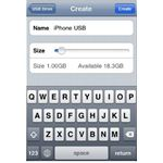 create usb drive on iphone