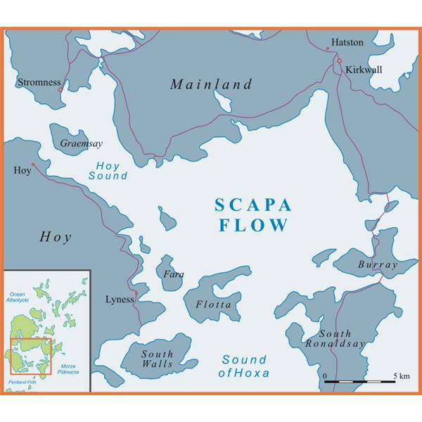 Scapa Flow from Wiki Commons by Siałababamak