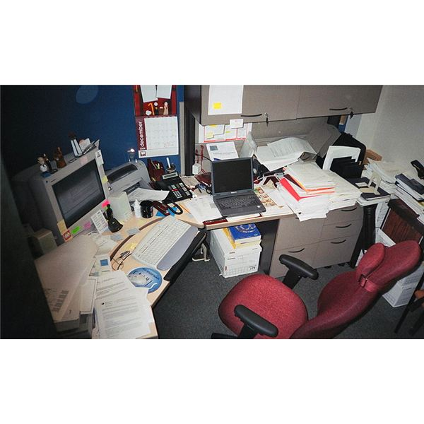 Office Cubicle (Image Credit: Wikimedia Commons)