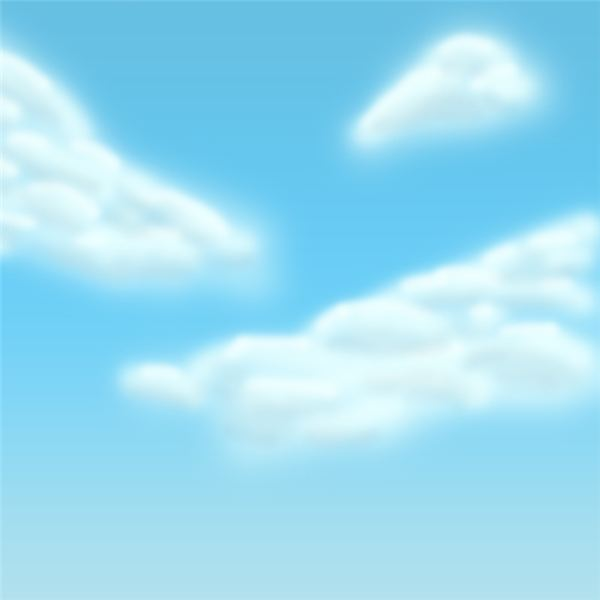 Creating clouds in Photoshop is a relatively simple process using the airbrush and layers.