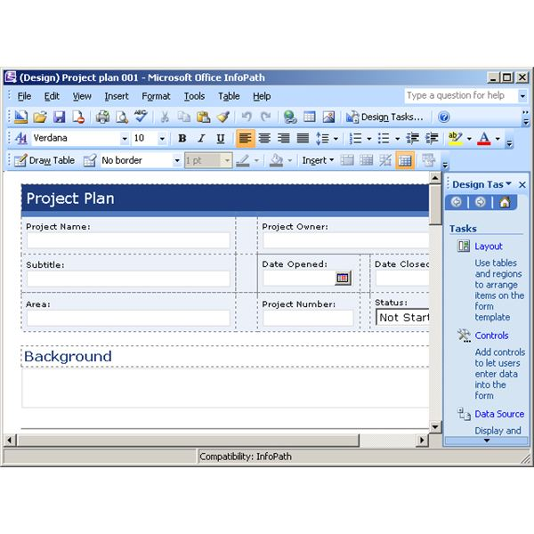 Protect your bottom line with free project planning templates for Microsoft infopath form templates