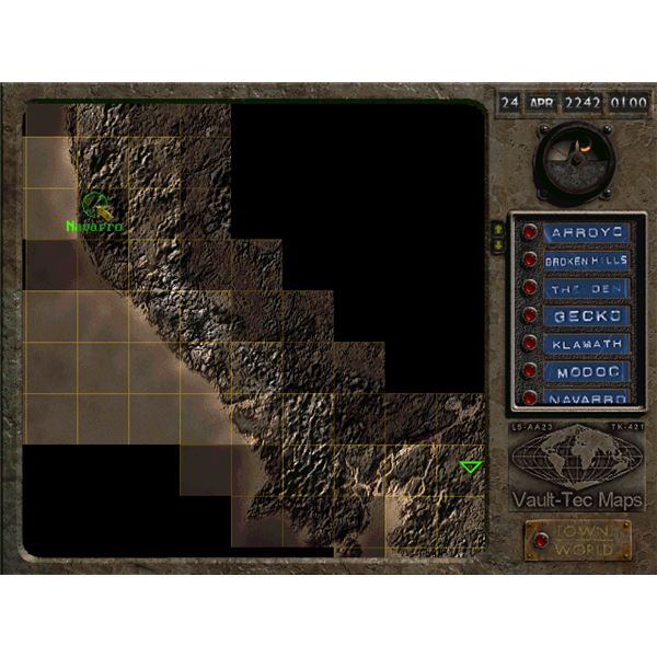 Fallout 2 Power Armor at Game Start - Make a Run to Navarro and Loot ...