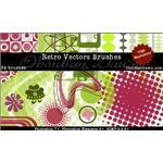 Retro Vectors Brushes by redheadstock