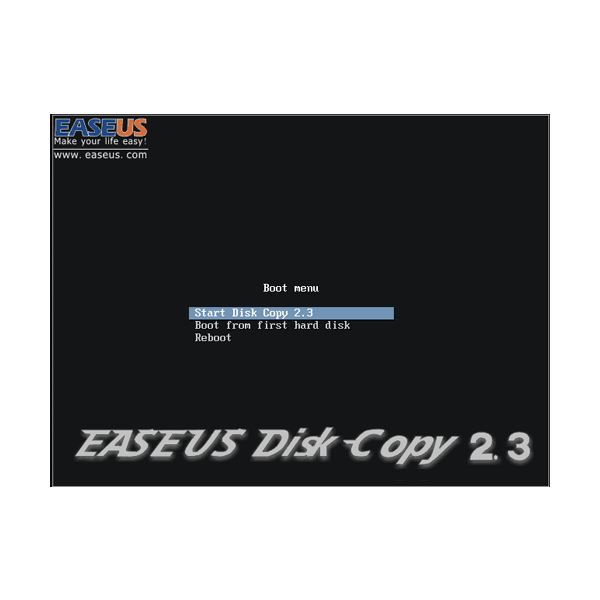 EASEUS Disk Copy - Clone Windows 7