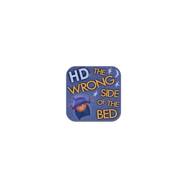 3D Storybook - The Wrong Side of the Bed in 3D! for iPad