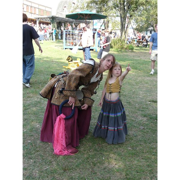 At Renaissance fair by Piotrus on Wikipedia Commons