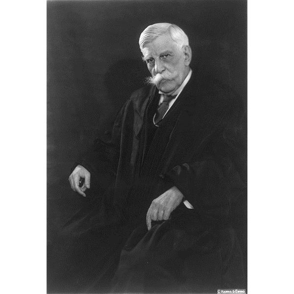 Oliver Wendell Holmes Jr circa 1930; Library of Congress