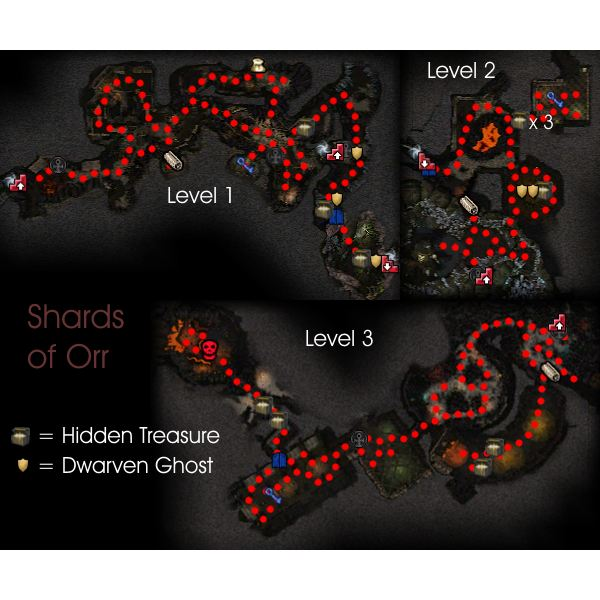 Shards of Orr Map Guild Wars