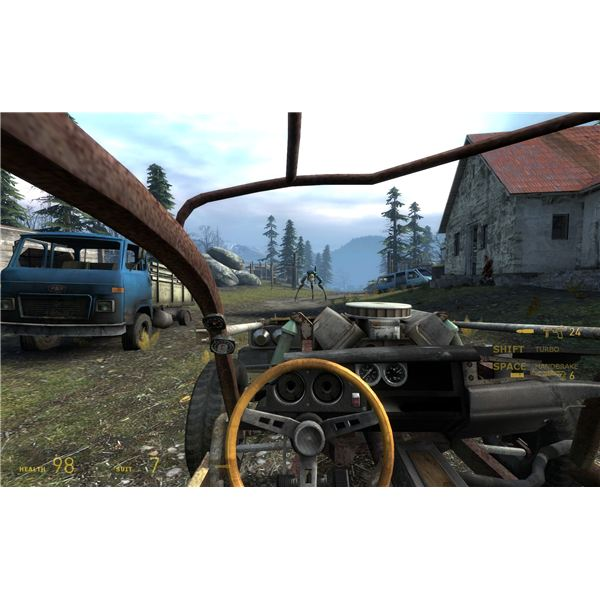 Half-Life 2: Episode 2 - Ram the Hunter with Your Car