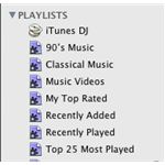 smart playlists