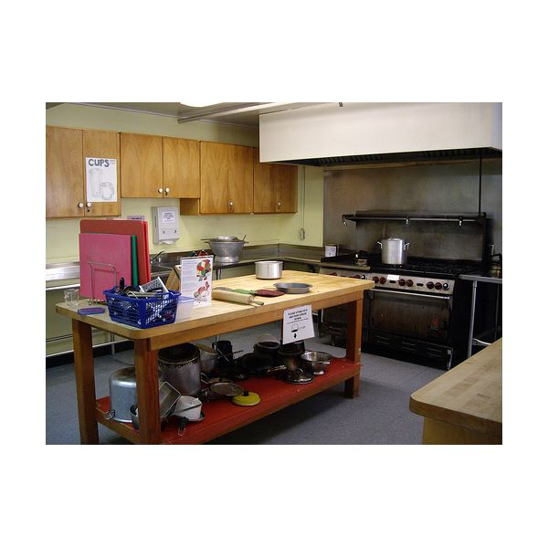 Cooking in your hostel's kitchen saves resources and is a nice break from eating out.