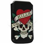 Ed Hardy Love Kills Slowly Vertical pouch For Rumor