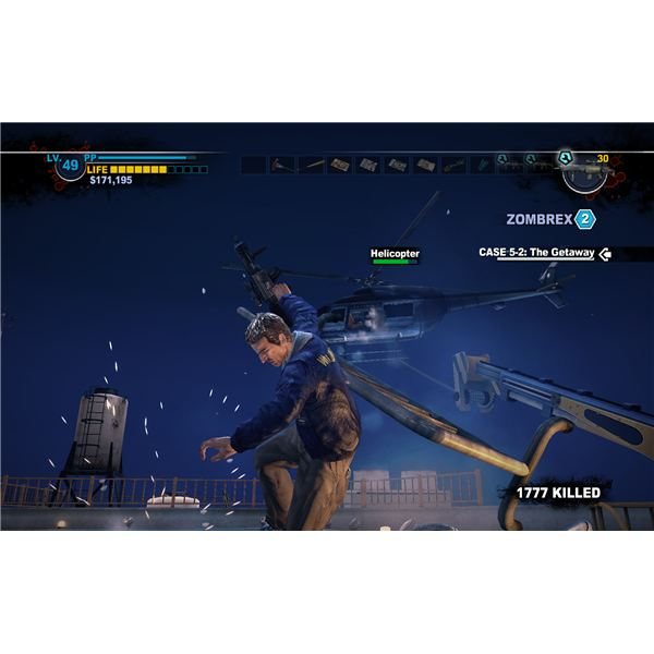 Dead Rising 2 Walkthrough - The Helicopter Battle - One Very Cool Screenshot