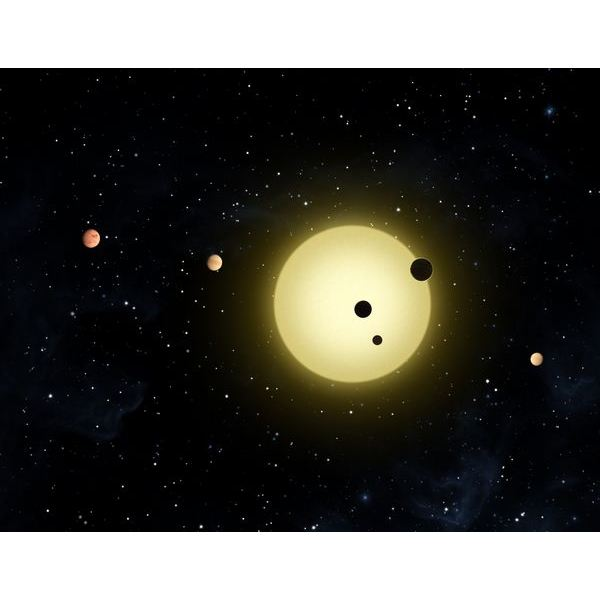 Artist Imagination of Kepler-11