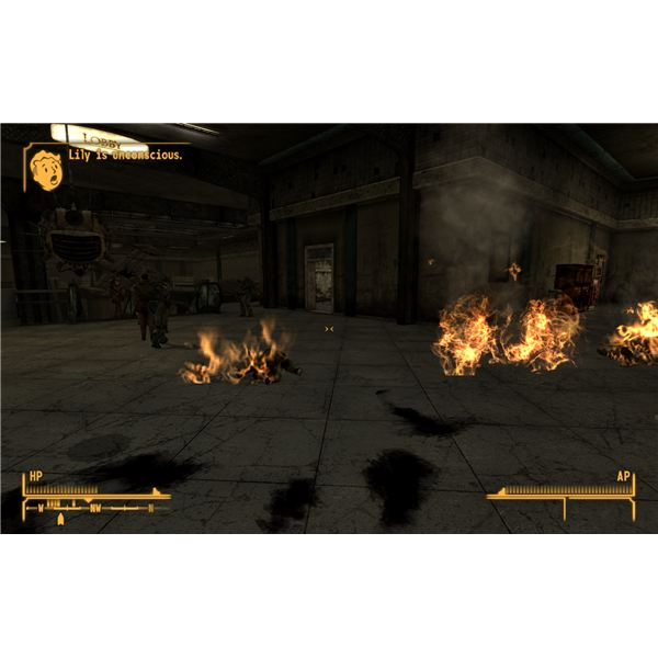 Fallout: New Vegas - It Took Several Heavy Trooper with Incinerators to Actually Knock Lily Out in an Accidental Fight