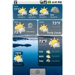 Weather Forecast Widget Android App