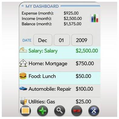 Expense Tracker Palm Pixi App