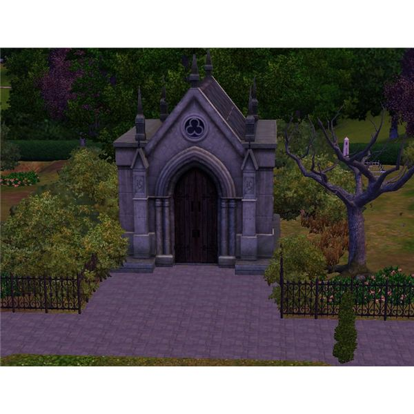 The Sims 3 Mausoleum 1