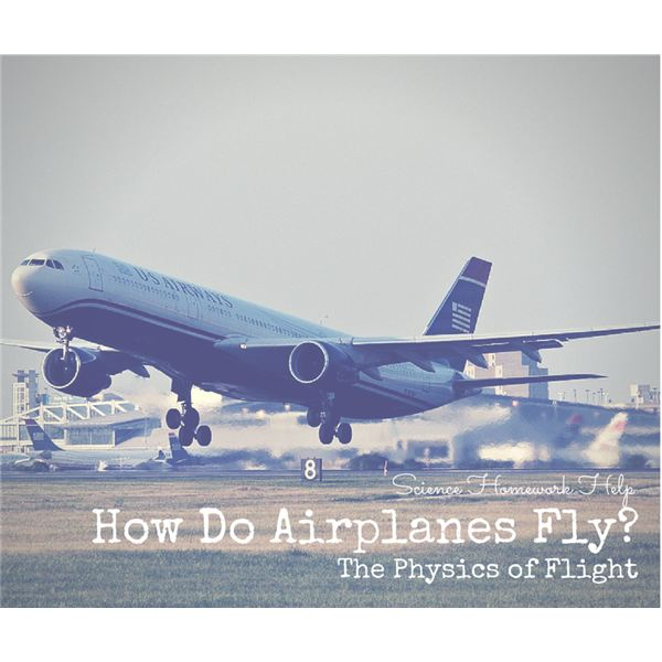 How Do Planes Fly? Science Homework Help