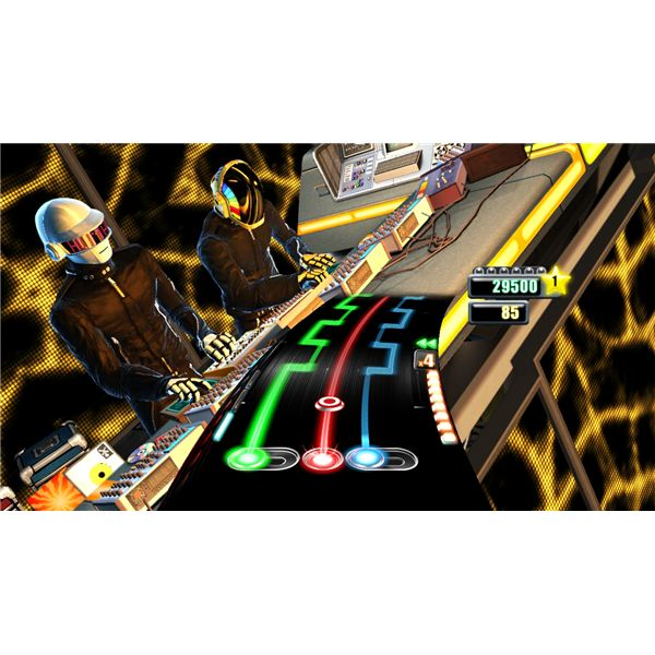 DJ Hero Screenshot: Daft Punk Hits the Disc
